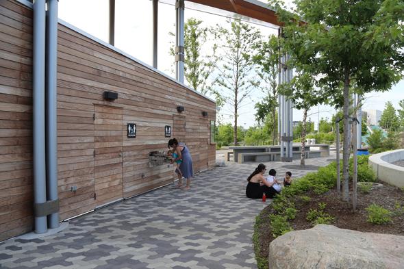 Corktown Commons Park Toronto