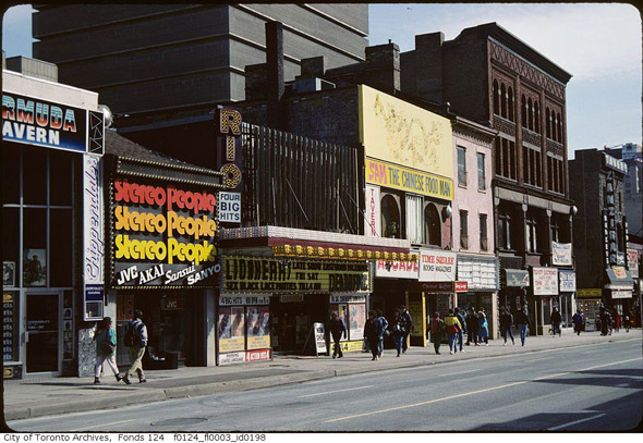 what cinemas used to look like in toronto