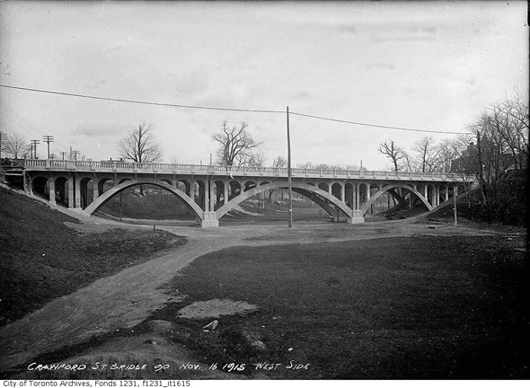 Crawford Street Bridge Toronto