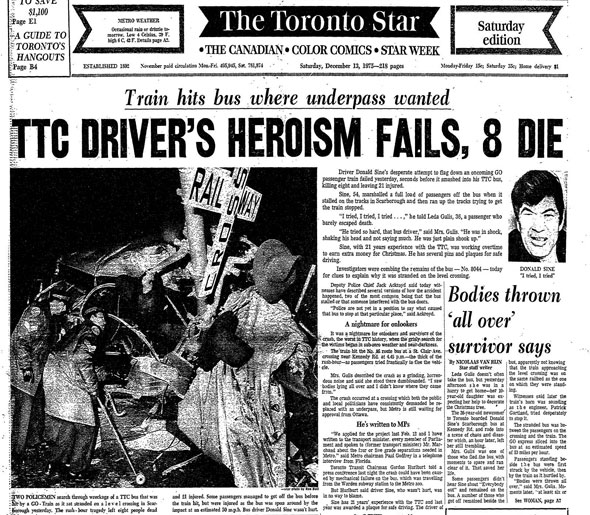 toronto train crash