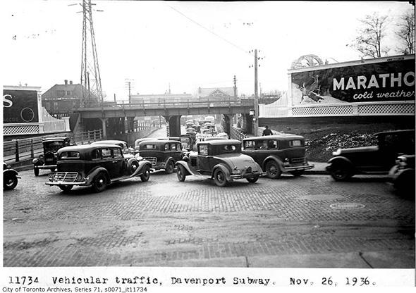 Davenport Road History Toronto