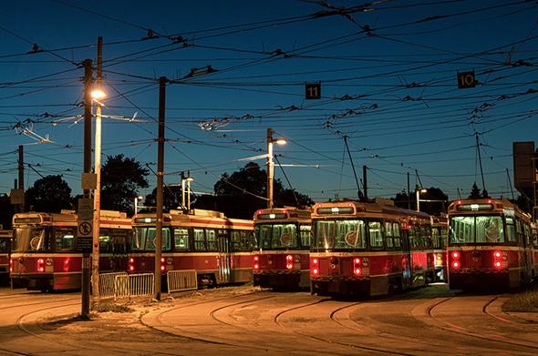 streetcars toronto ttc