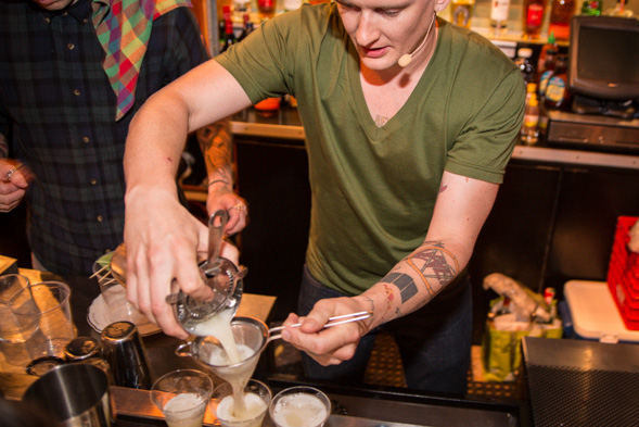 Hogtown Shakedown cocktail competition