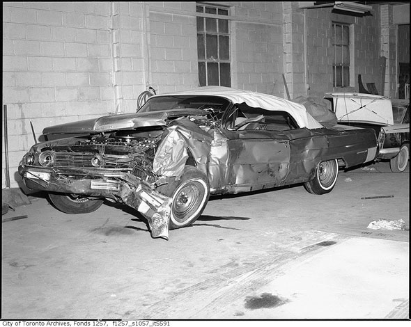 toronto car crash