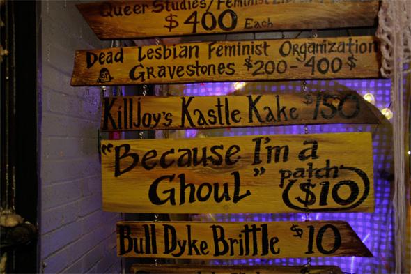 lesbian haunted house