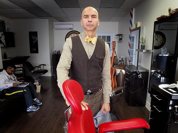 Barber shops Toronto