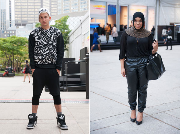 Street Style Toronto Fashion Week