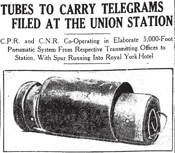 toronto tube mail