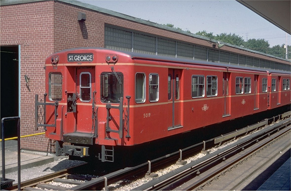 TTC Red Rocket Train