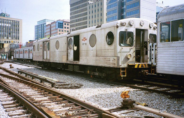 TTC Garbage Train