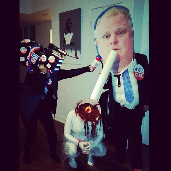 rob ford Halloween costume