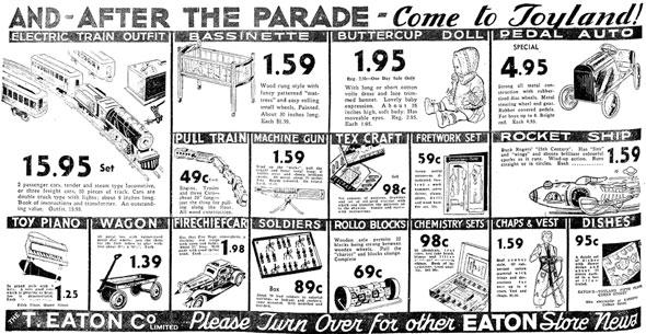 toronto santa parade
