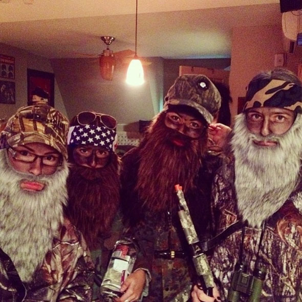 Duck Dynasty Halloween costume