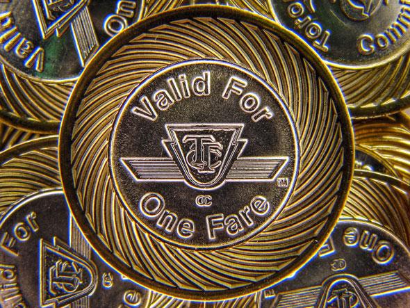 toronto ttc token