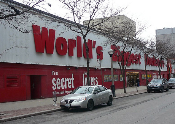 Worlds Biggest Bookstore Closed