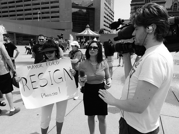 Major Rob Ford Protest Planned For November 13th