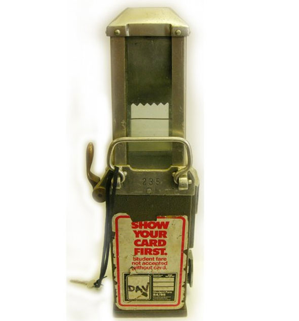 ttc fare box