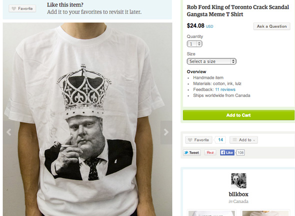 Rob Ford Swag