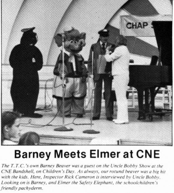 toronto ttc barney beaver