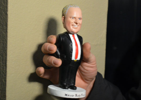 rob ford bobblehead