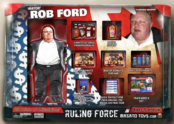 Rob Ford action figure