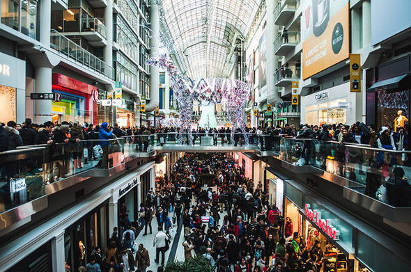 Boxing Day Eaton Centre