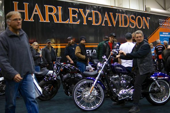 Motorcycle Supershow in Toronto