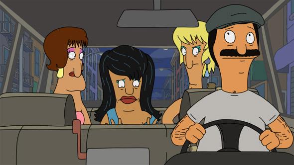 Bobs Burgers Taxi