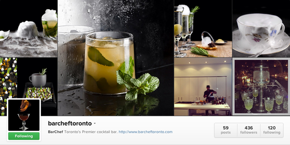 BarChef Instagram