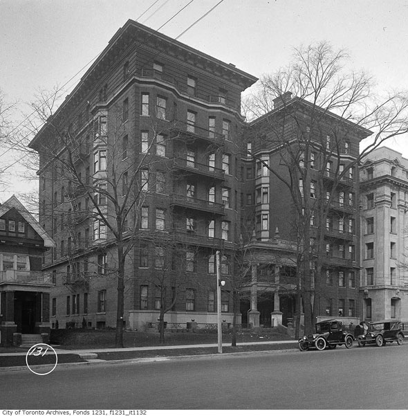 A brief history of Toronto's first apartment building