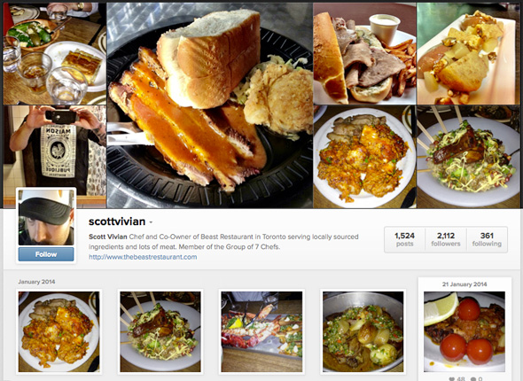 Food Instagram Accounts in Toronto