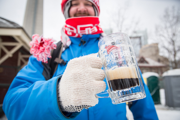 The top 15 beers bites at winter beer fest for Craft beer festival toronto