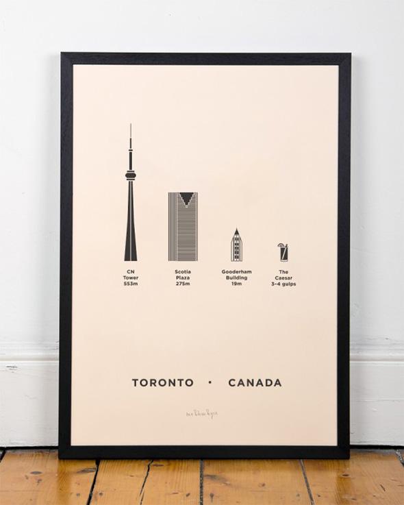 Toronto screen print