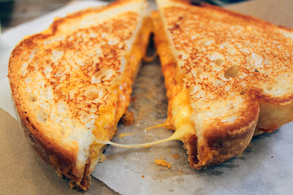 best cheeses for grilled cheese