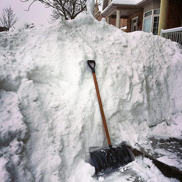 snow storm toronto february 2014