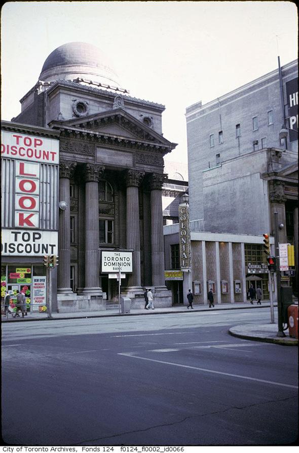 A 1960s Toronto photo ...