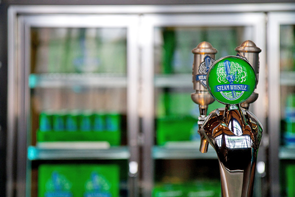 Steam Whistle beer delivery