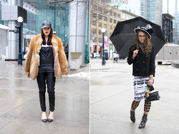 Events In Toronto Street Style 15 Rainy Day Looks At Toronto Fashion Week
