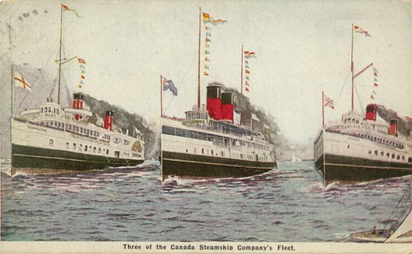 Niagara steamboat