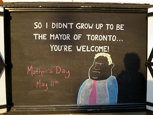 Mayor of Toronto