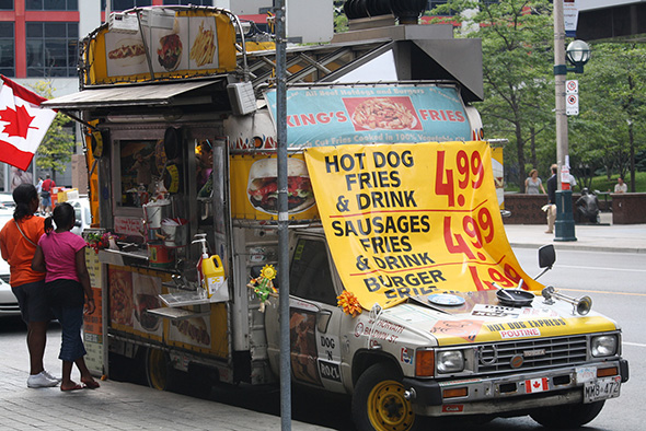 Toronto Hot Dog Stands