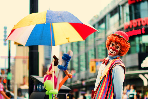 clown in toronto
