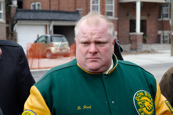 Rob Ford rehab