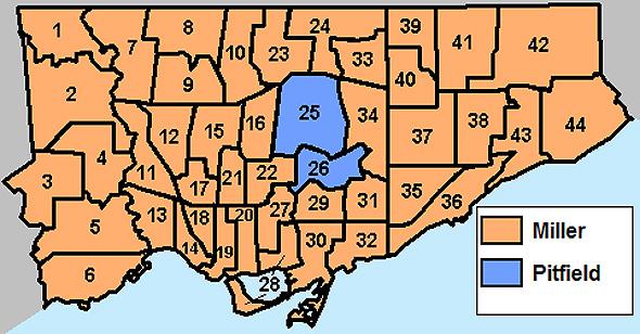 toronto election results 2006