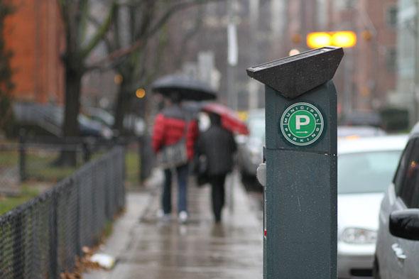toronto parking meter