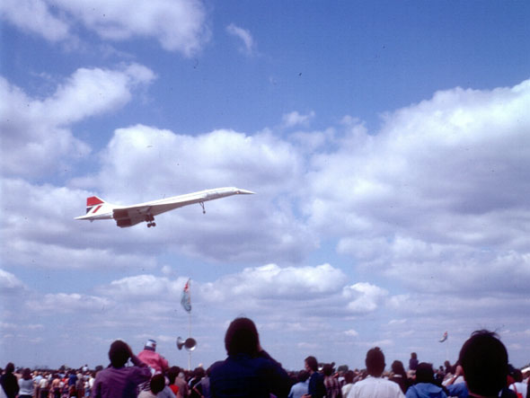 concorde air show