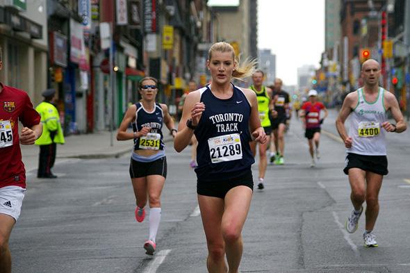 running in toronto