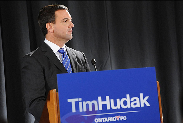tim hudak ttc press conference
