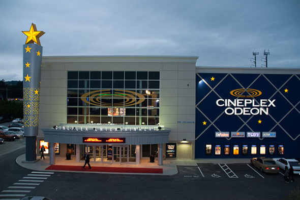 Cineplex Odeon prices