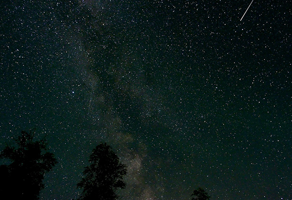 Meteor shower May 2014